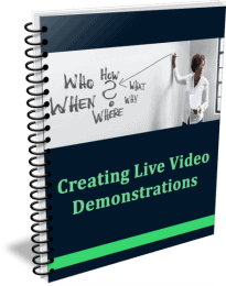 High Quality Creating Live Demos PLR Report