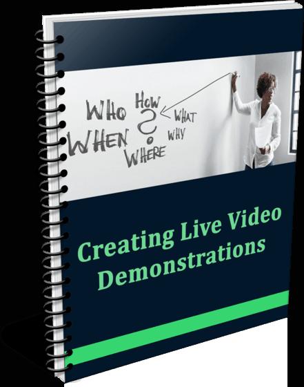 High Quality Creating Live Demos PLR Report