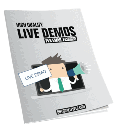 High Quality Live Demos PLR Email eCourse