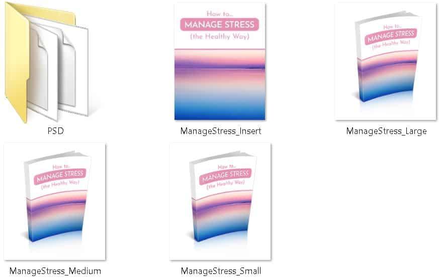 Manage Stress Premium PLR Ecovers