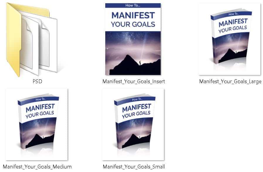 Manifest Your Goals Premium PLR Ecovers