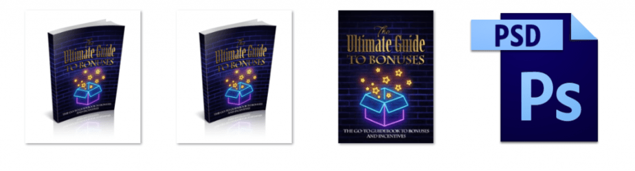 The Ultimate Guide To Bonuses eCover graphics
