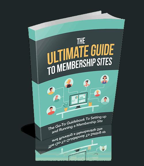 The Ultimate Guide To Membership Sites Premium PLR Guide 10k Words