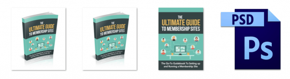 The Ultimate Guide To Membership Sites eCover graphics