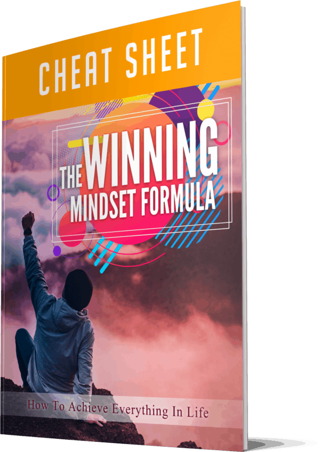 The Winning Mindset Formula Cheatsheet