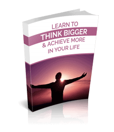 Think Bigger Premium PLR Ebook