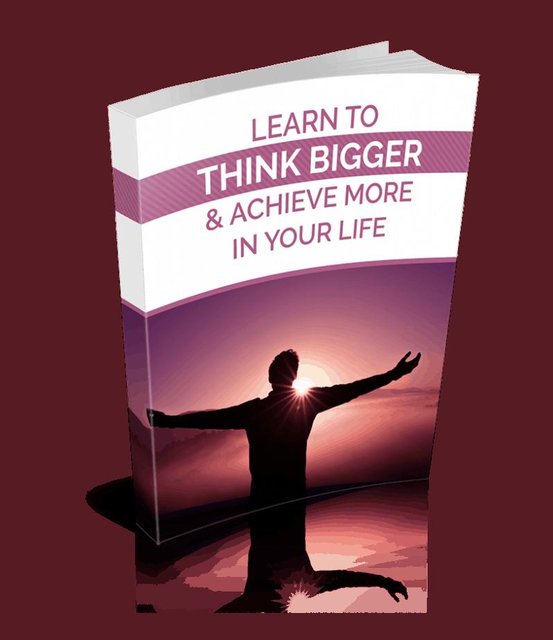 Think Bigger Premium PLR Ebook