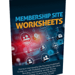 Membership Site Premium PLR Worksheets