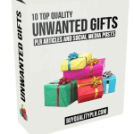 10 Quality Unwanted Gifts PLR Articles and Social Posts