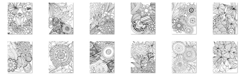 Colorist Heaven Volume 2 Flora