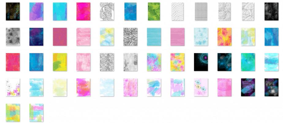 Colorist Heaven Volume 2 Backgrounds