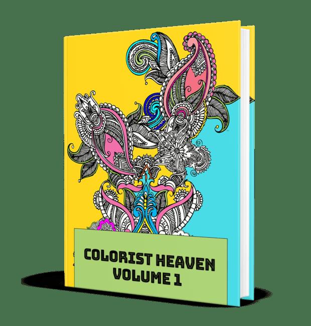 Colorist Heaven Volume 1 MRR Coloring Pages
