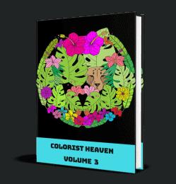Colorist Heaven Volume 3 MRR Coloring Pages