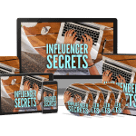 Influencer Secrets Sales Funnel with Master Resell Rights