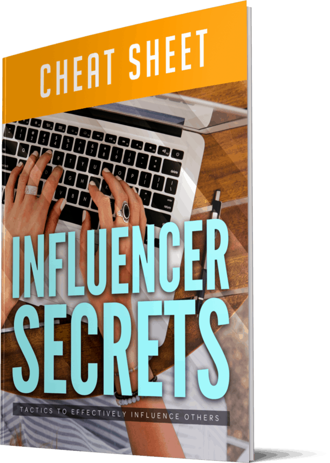Influencer Secrets Cheatsheet