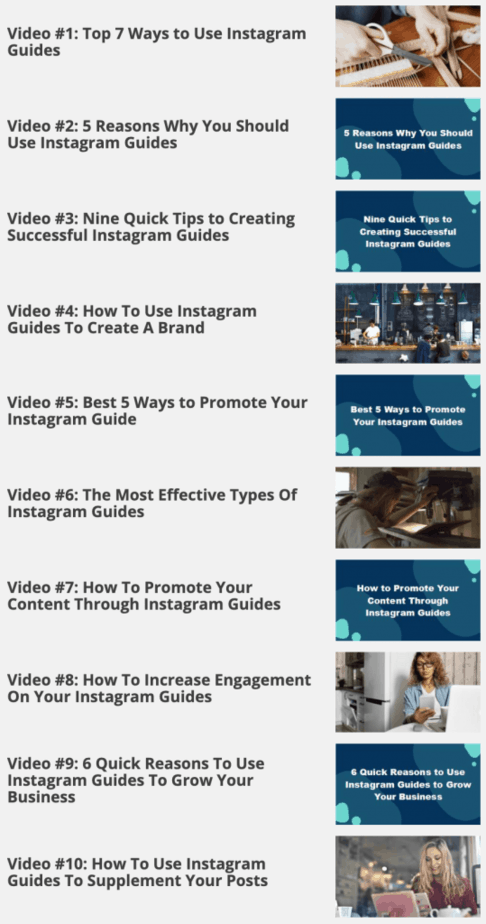 Instagram Guides For Beginners Videos