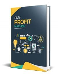 PLR Profit Machine PLR eBook Resell PLR