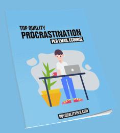 Procrastination PLR Email Course