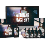 Webinar Mastery Sales Funnel with Master Resell Rights