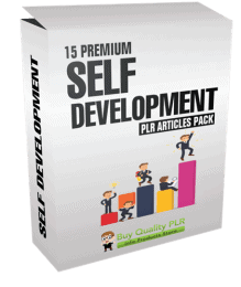 15 Premium Self Development PLR Articles Pack