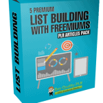 5 Premium List Building With Freemiums PLR Articles Pack