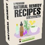 5 Premium Natural Remedy Recipes PLR Articles Pack