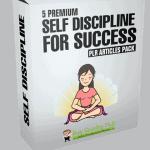 5 Premium Self Discipline For Success PLR Articles Pack