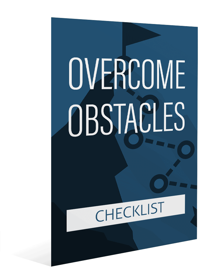 Overcome Obstacles Checklist