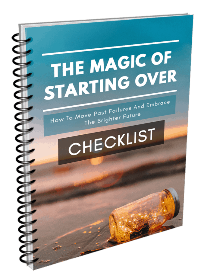 The Magic of Starting Over Checklist