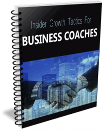 Top Quality Inside Growth Tactics for Business Coaches PLR Report
