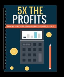 5X The Profits PLR Lead Magnet Kit eCover