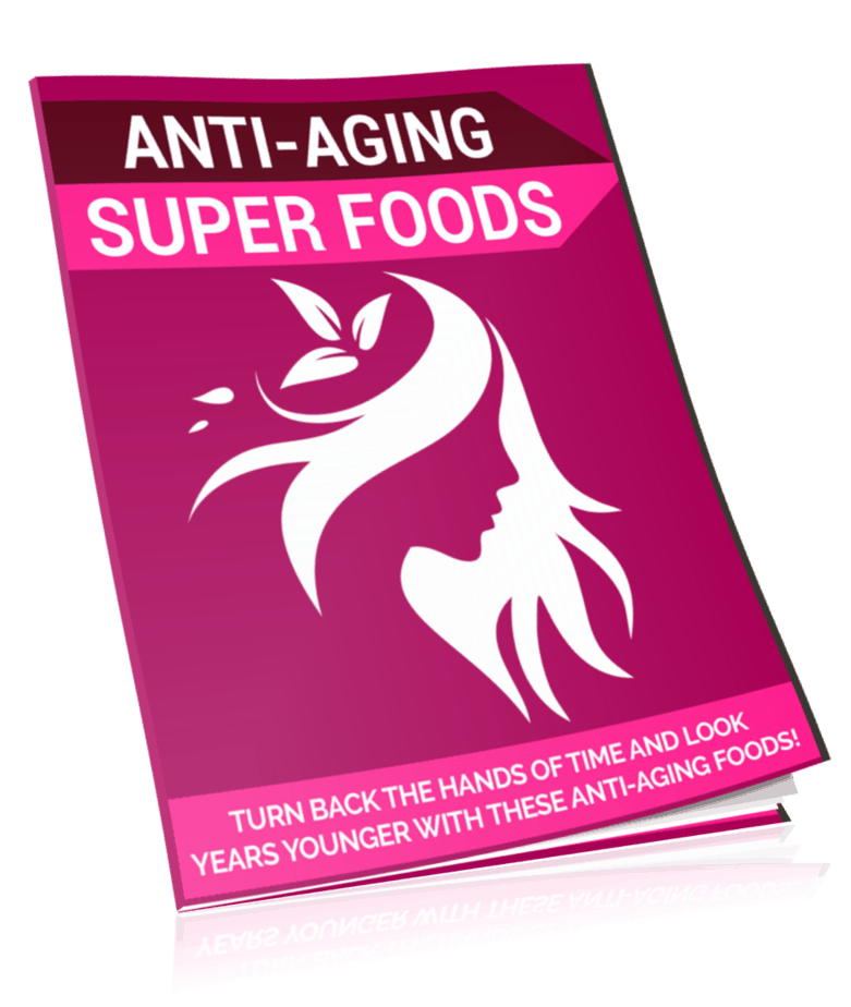 Anti Aging Super Foods PLR Lead Magnet Kit eCover