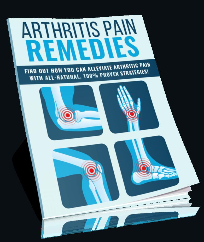 Arthritis Pain Relief PLR Lead Magnet Kit eCover