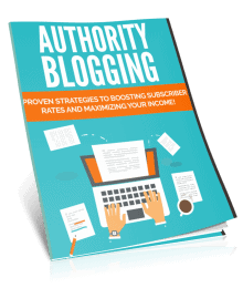 Authority Blogging PLR Lead Magnet Kit eCover
