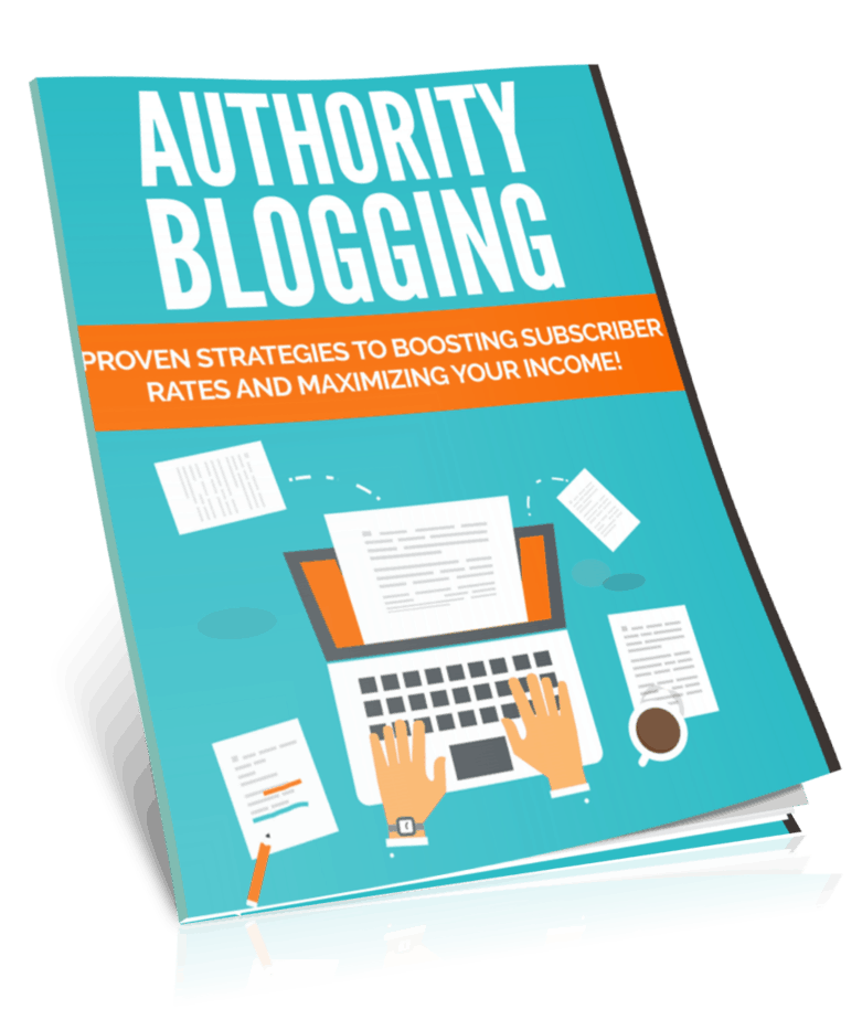 Authority Blogging PLR Lead Magnet Kit eCover