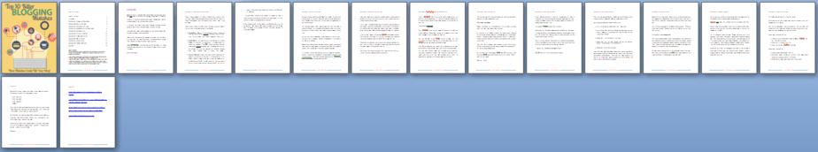 Blogging Mistakes PLR Report Sneak Preview