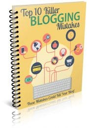 Blogging Mistakes PLR Report eCover