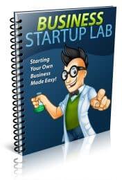 Business Startup PLR Lead Magnet Kit eCover