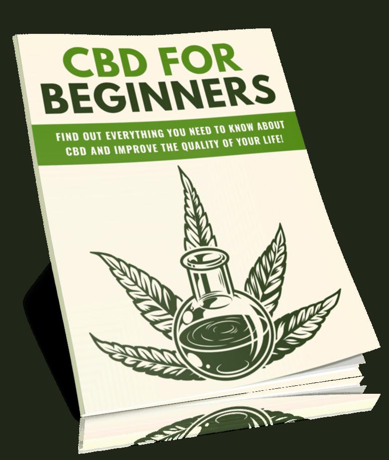 CBD for Beginners PLR Lead Magnet Kit eCover