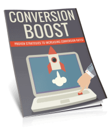 Conversion Boost PLR Lead Magnet Report eCover