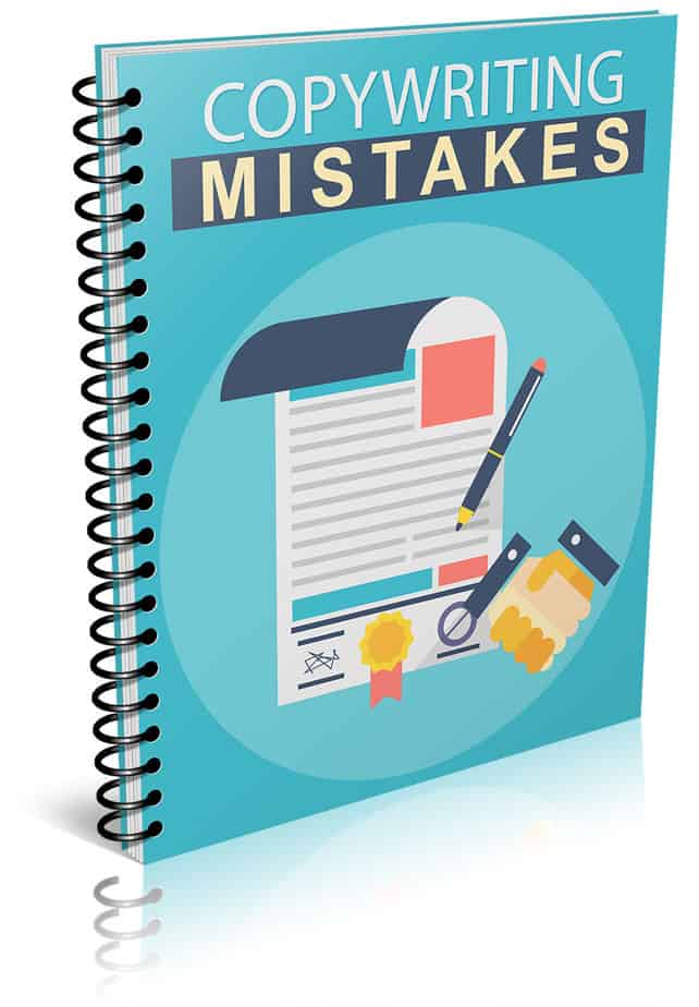 Copywriting Mistakes PLR Lead Magnet Report eCover