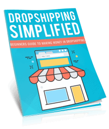 Dropshipping Simplified PLR Report eCover