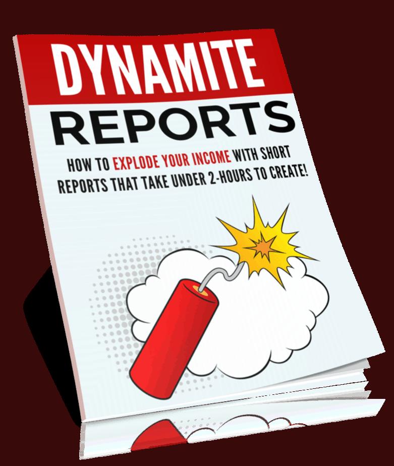 Dynamite Reports Profits PLR Report eCover