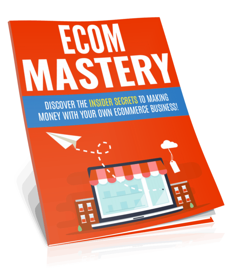 Ecommerce Business Mastery PLR Report eCover