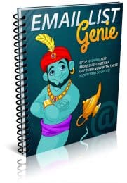 Email List Genie PLR Report eCover