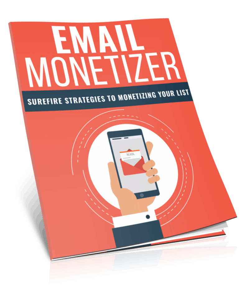 Email Monetizer PLR Report eCover