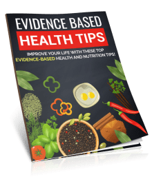 Evidence Based Health Tips PLR Report eCover