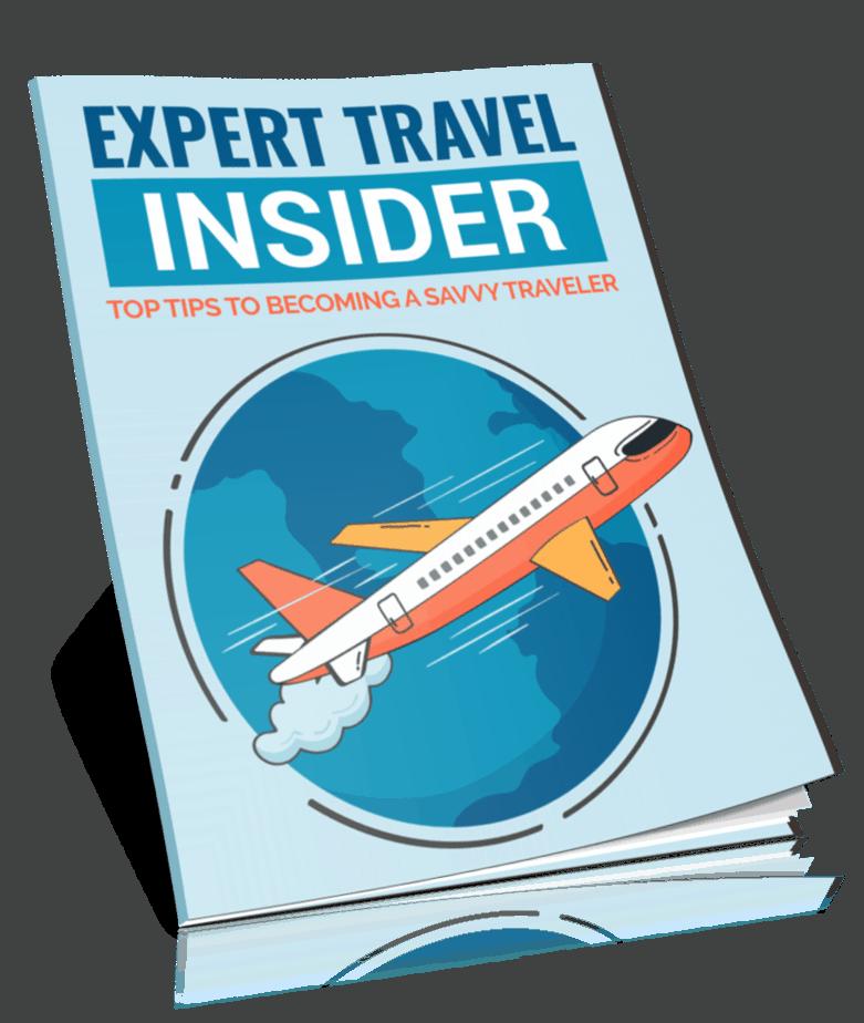 Expert Travel Insider PLR Report eCover