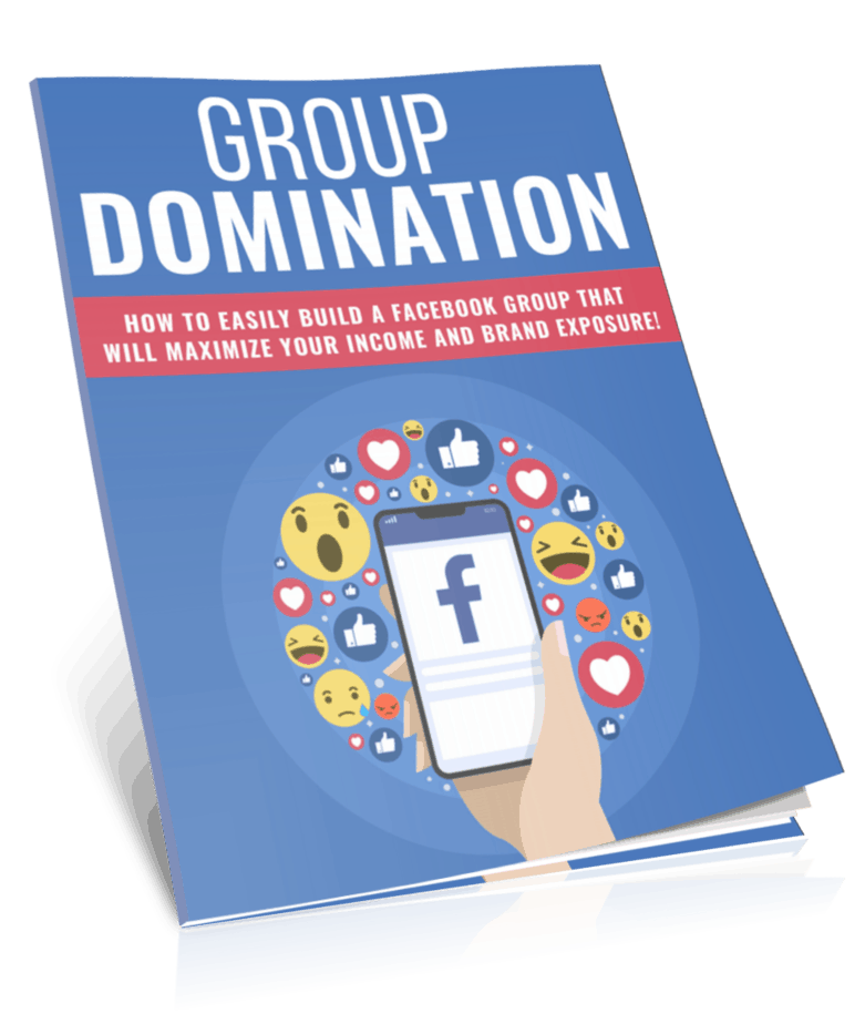 Facebook Group Domination PLR Report eCover