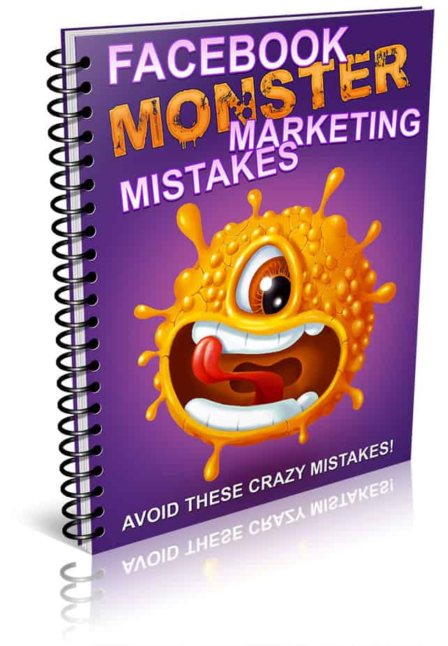 Facebook Marketing Mistakes PLR Report eCover